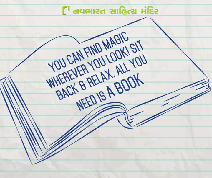 Need more reasons to #read? #Reading is #Magical!  #NavbharatSahityaMandir #Books