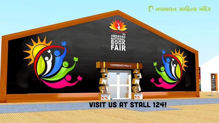1day to go for the  #AhmedabadNationalBookFair !  Visit us at stall 124!  #NavbharatSahityaMandir #Reading #Books