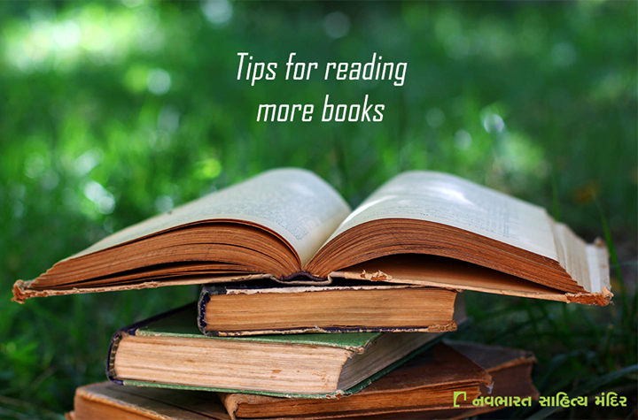 #Tips for reading more books :  > Turn off the TV, and put away your phone. > Have a book on you at all times. > Read books you know you'll love. > Shop for more books.  #Books #Reading #NavbharatSahityaMandir