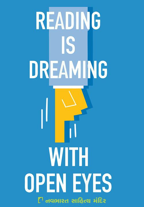 To all the ardent #bookreaders, don't you agree?  #Reading #ReadingIsAJourney #Dreaming #NavbharatSahityaMandir