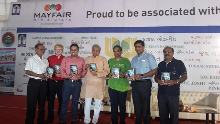 The book launch of