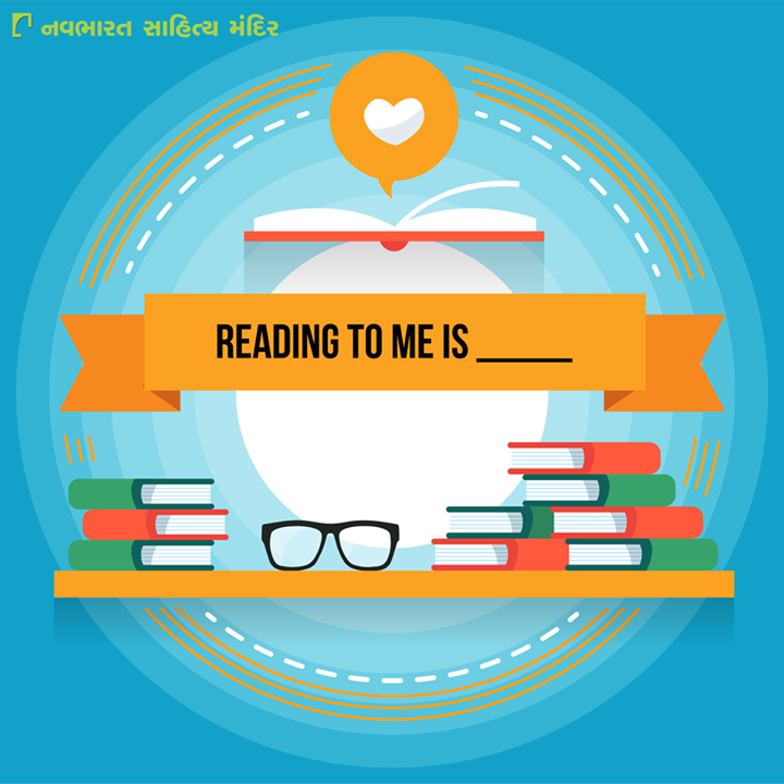 #Reading to me is __________  #Books #NavbharatSahityaMandir