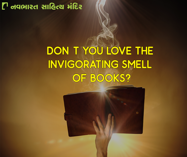 #Books have a distinctive smell that can make any book lover's heart melt.   #NavbharatSahityaMandir #Books #Reading