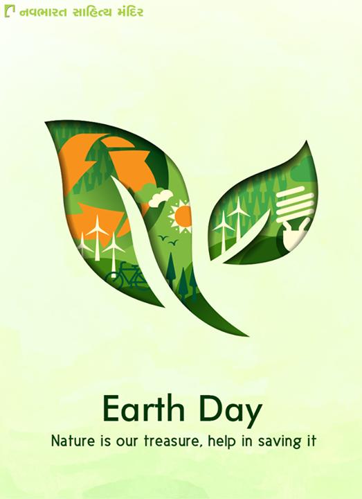 Nature is our treasure, help in saving it.  #WorldEarthDay #EarthDay #NavbharatSahityaMandir #GujaratiBooks #GujaratiLiterature