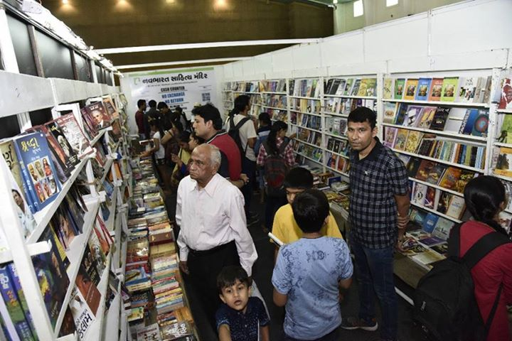 Glimpses from our stall at the #BookFair , #ThankYou for visiting us!  #AhmedabadNationaBookFair #NavbharatSahityaMandir #Books #Reading #LoveForReading #BooksLove #BookLovers