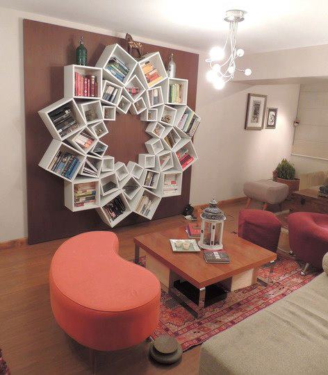 Book Shelf made out of