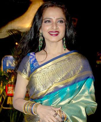 Wishing happy birthday to Bollywood's evergreen Rekha...The original diva, timeless beauty.