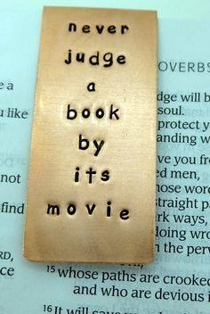 There are so many movies are about to hit cinemas which are based upon book.....while all the readers says