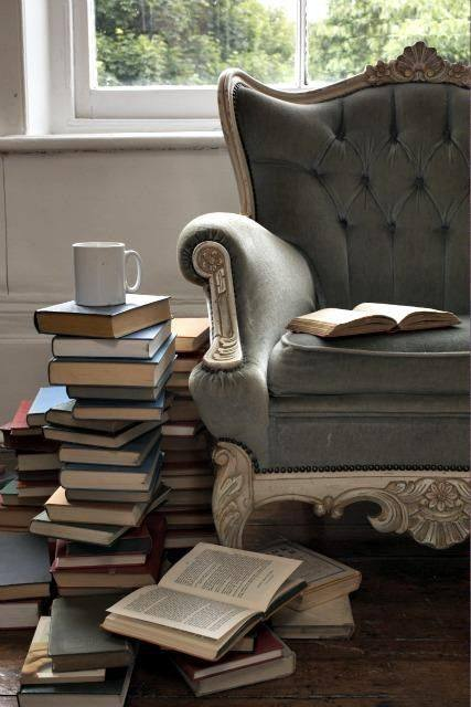How do you like to read your books?  In a royal chair with cup of coffee On your couch with cup of tea On your bed with glass of cocktail  #TellUs #Books #Reading