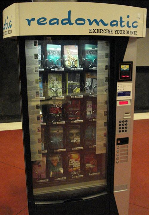 America have book vending machine......Would you like to have Book Vending Machine in india? #YourSay #TellUs #book