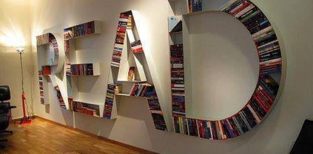 Creative bookshelf for your office or home....what you think about this?