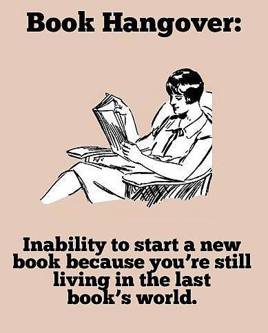 We can all relate to this!   Which last book did this to you?