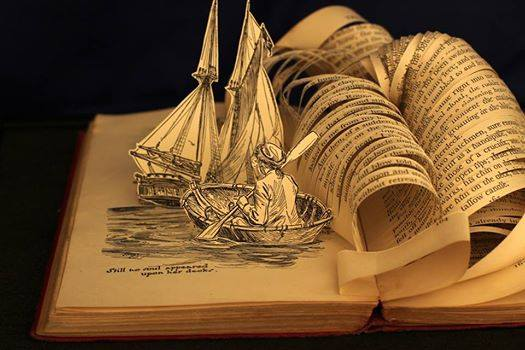 Open your imagination, explore the possibilities ...  Open a book.