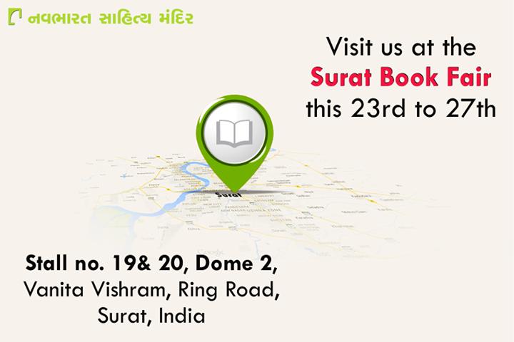 #SuratBookFair #NavbharatSahityaMandir #Books #Reading