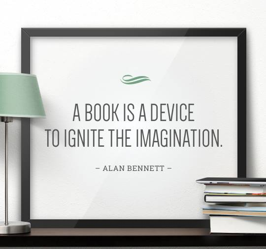 Ignite your #Imagination this #Weekend, pick up a book!