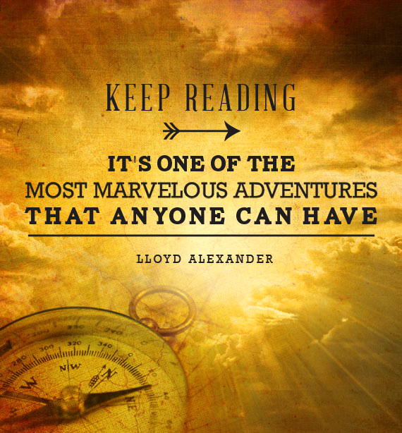 #Reading is one of the best #adventures!