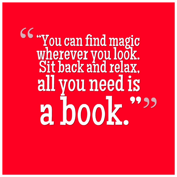 #Books are #magical! Don't you agree?