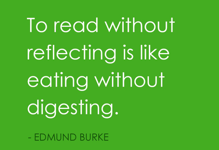 #Read to #Reflect!