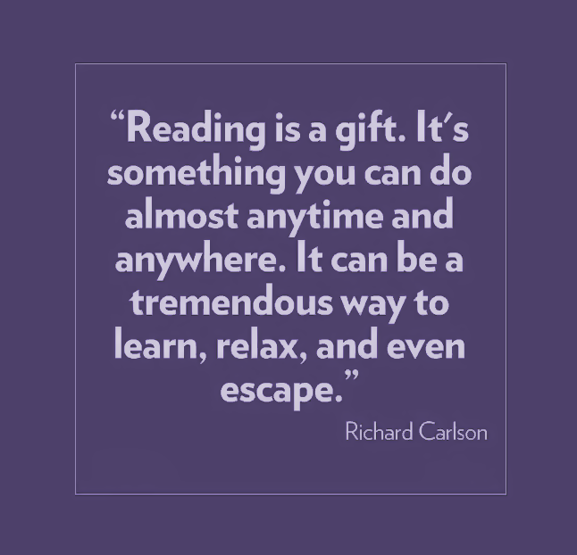 Escape into a book this #weekend! Coz #reading is #awesome!