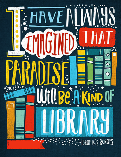 Dedicated to all #booklovers!  #Reading #library #Books #WeekendRead