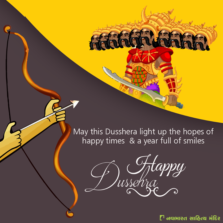 Let's celebrate the victory of forces of good over evil.  #HappyDussehra