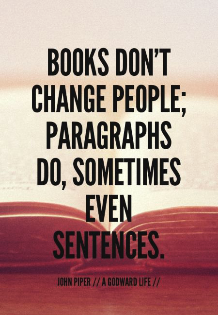 // #Books are #lifechanging //