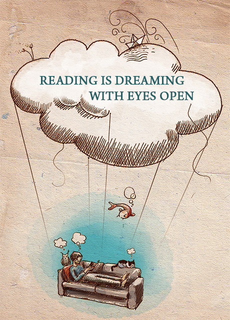 Reading Is Dreaming With Open Eyes, don't you agree?  #Booksmiths #Reading #NavbharatSahityaMandir