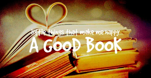 Isn't a #goodbook all that it takes to make you #happy!