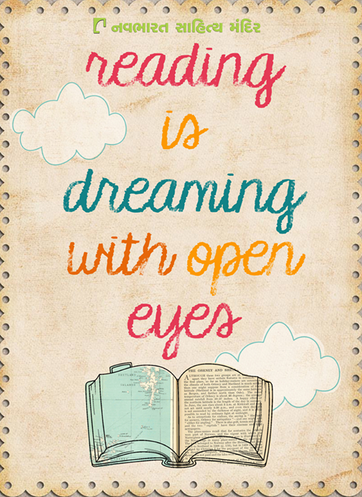 What is your take on #reading? How would you describe it?  #ReadingAddicts #Books #NavbharatSahityaMandir